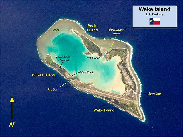 Islas donde perderse - Wake island