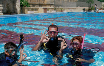 Scuba diving course Malta